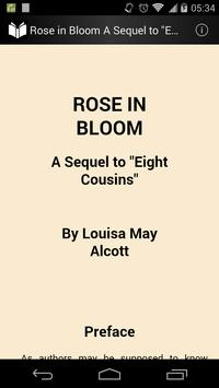 Rose in Bloom poster