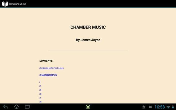 Chamber Music apk screenshot