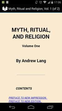 Myth, Ritual and Religion 1 poster