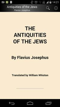Antiquities of the Jews poster