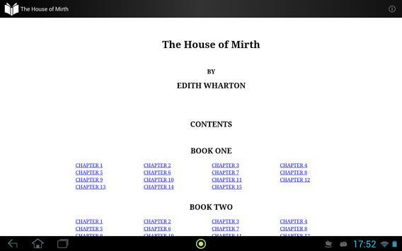 The House of Mirth apk screenshot