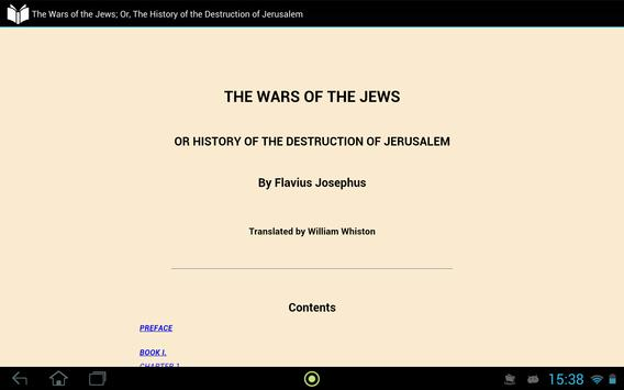 The Wars of the Jews apk screenshot