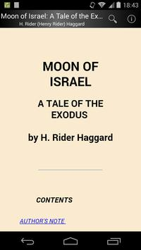Moon of Israel poster