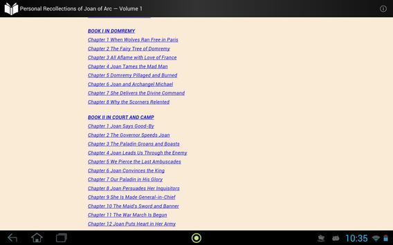 Joan of Arc  — Volume 1 apk screenshot