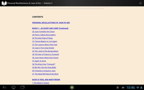 Joan of Arc — Volume 2 apk screenshot