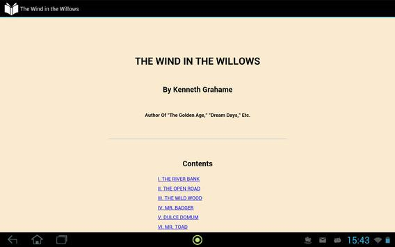 The Wind in the Willows apk screenshot
