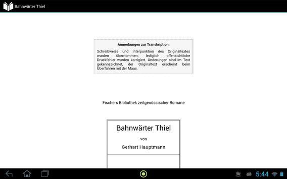 Bahnwärter Thiel apk screenshot