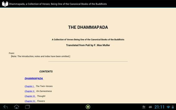 A Canonical Book of Buddhists apk screenshot