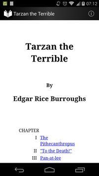 Tarzan the Terrible poster