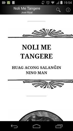 noli me tangere recommendation Manila, philippines - noli me tangere is one of the most famous pieces of  literary work ever produced by a filipino written by national hero.