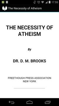 The Necessity of Atheism poster