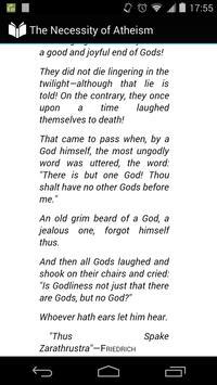 The Necessity of Atheism apk screenshot