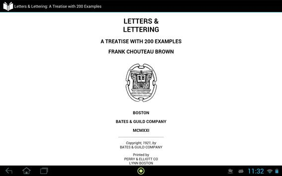 Letters and Lettering apk screenshot