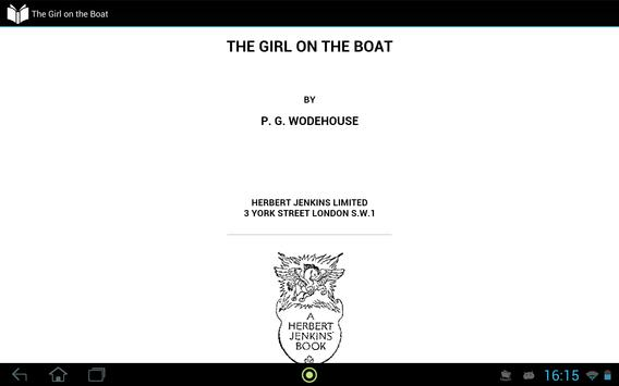 The Girl on the Boat apk screenshot