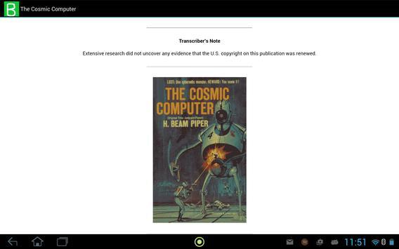 The Cosmic Computer apk screenshot
