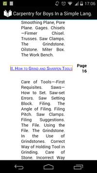 Carpentry for Boys apk screenshot