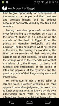 An Account of Egypt apk screenshot