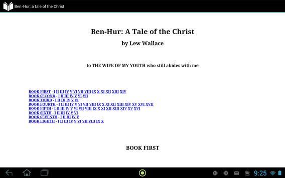 Ben-Hur; A Tale of the Christ apk screenshot