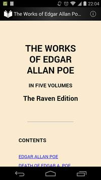 The Works of Edgar Allan Poe 1 poster