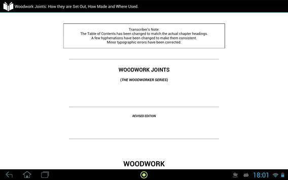 Woodwork Joints apk screenshot