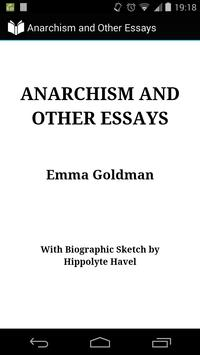 Anarchism and Other Essays poster