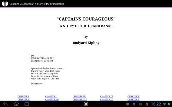 """""""Captains Courageous"""" apk screenshot"""