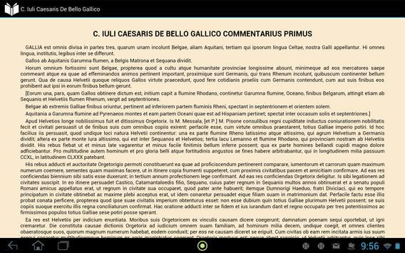 C. Caesaris De Bello Gallico apk screenshot