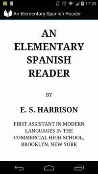 An Elementary Spanish Reader poster
