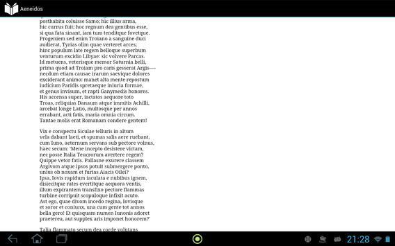 Aeneidos apk screenshot