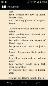 Virgil's Aeneid in English apk screenshot