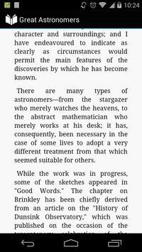 Great Astronomers apk screenshot