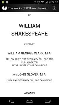 Works of William Shakespeare 1 apk screenshot