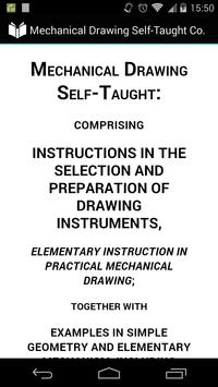 Mechanical Drawing Self-Taught poster
