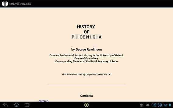 History of Phoenicia apk screenshot