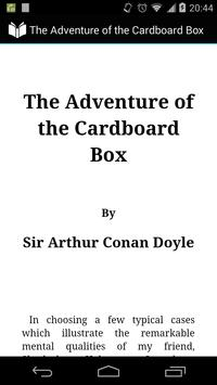 Adventure of Cardboard Box poster