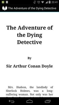 Adventure of Dying Detective poster