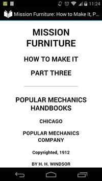 Mission Furniture Part 3 poster