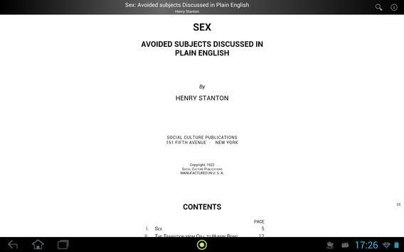 Sex: Avoided Subjects apk screenshot