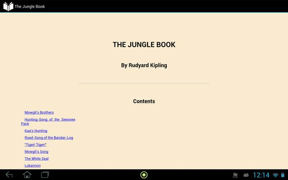 The Jungle Book apk screenshot