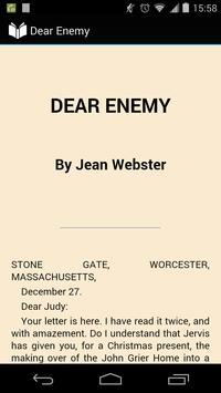 Dear Enemy poster