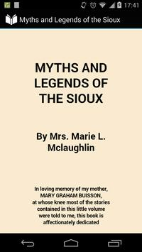 Myths and Legends of the Sioux poster