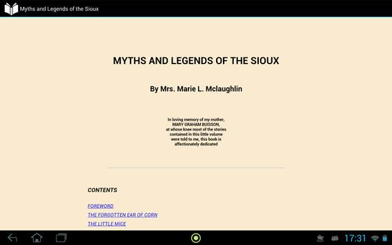 Myths and Legends of the Sioux apk screenshot