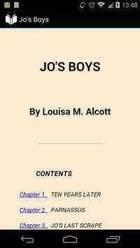 Jo's Boys poster