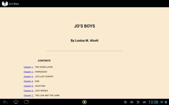 Jo's Boys apk screenshot