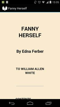 Fanny Herself poster