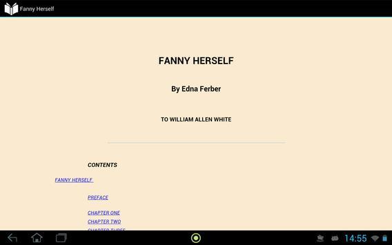 Fanny Herself apk screenshot