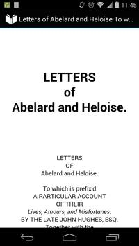 Letters of Abelard and Heloise poster