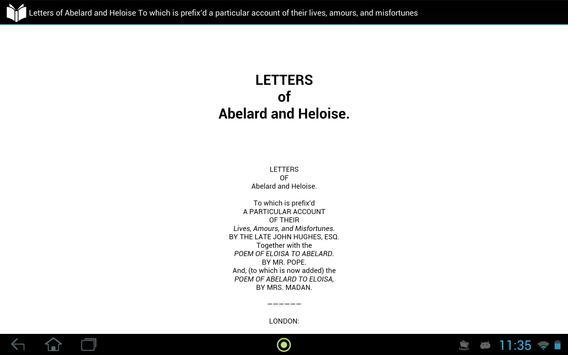 Letters of Abelard and Heloise apk screenshot