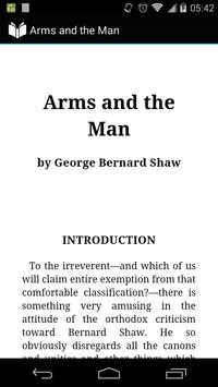 Arms and the Man poster