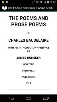 Poems of Charles Baudelaire poster